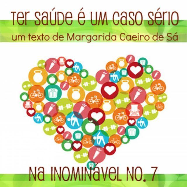 Há uma nova rubrica na #revistainominavel no. 7, onde a Margarida Caeiro de Sá nos fala de saúde. Já leram? https://www.joomag.com/magazine/inominável-ano-2-inominável-nº7/0315087001486647919 #revistadigital #revistaonline #revista #revistaportuguesa #portuguesemagazine #portugal #saúde #bookstagram #instadaily [link in bio]