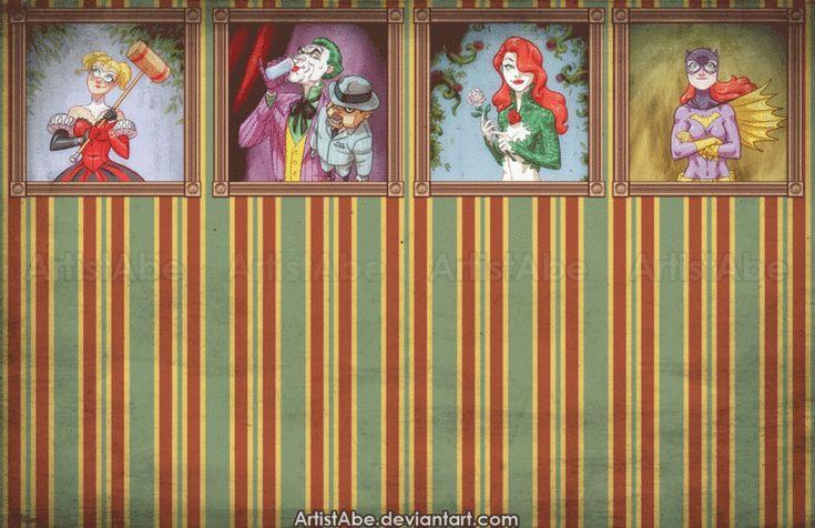 Harley Quinn,Харли Квинн, Харлин Квинзель,DC Evil,Злодеи,DC Comics,DC Universe, Вселенная ДиСи,фэндомы,Joker,Джокер, Клоун-принц преступного мира,Scarface,Poison Ivy,Ядовитый Плющ, Памела Айсли,Batgirl,Бэтгерл, Оракл, Барбара Гордон,Bat Family,Бэт семья,DC Gif,Гифки,Killer Croc,Убийца Крок, Уэйлон