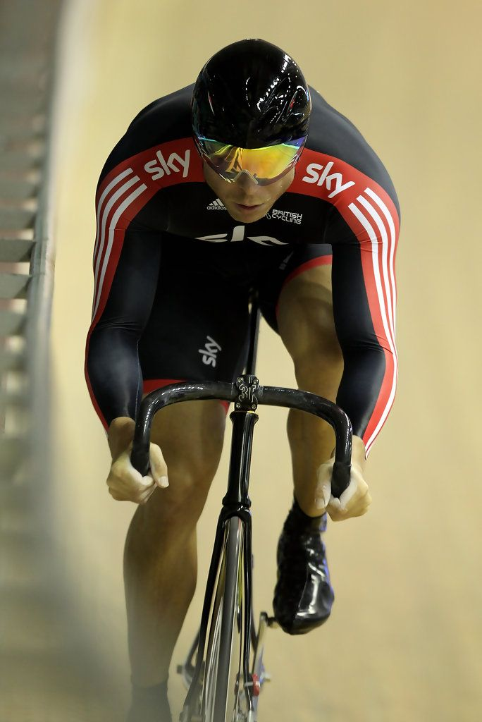 Sir Chris Hoy in UCI Track Cycling World Cup Classic in Manchester - Day One