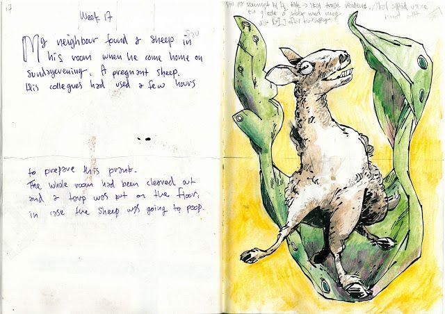 Drawing Diary: Week 17 2013 nr1