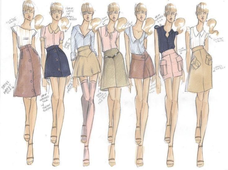 College Fashion Design Portfolio