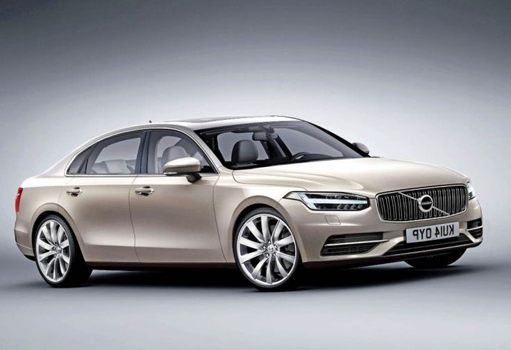 2016 Volvo S90 - A unique car because it is inspired by two car concepts.