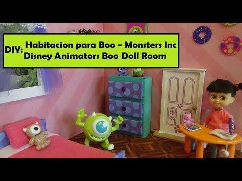 Como Hacer una Habitacion para Boo  de Monsters Inc - Diy Monsters Inc r...