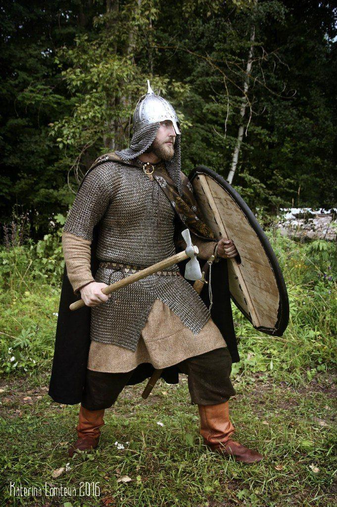 Древнерусский воин картинки