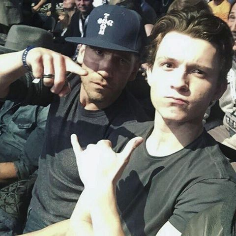 Jon Bernthal and Tom Holland !