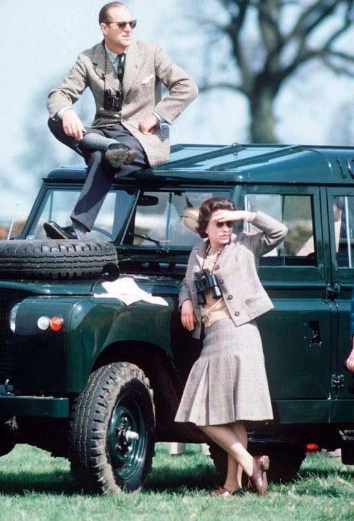 Королева Елизавета и принц Филипп (1968).