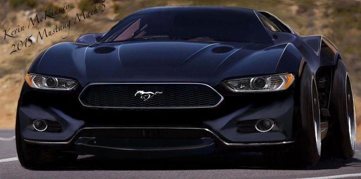 2015 Mustang Mach 5, magnifique voiture concept !