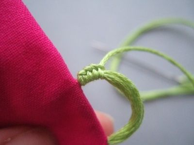 how to sew button loops