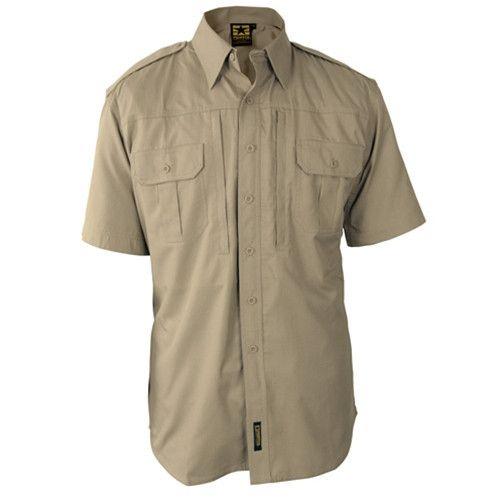 Propper Men's Tactical Shirt - Short Sleeve - Poplin