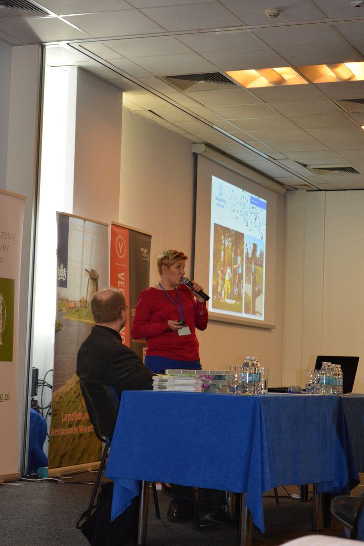 Prelekcja na temat zdrojów wody pitnej w przestrzeni miejskiej - konferencja SAK 2016