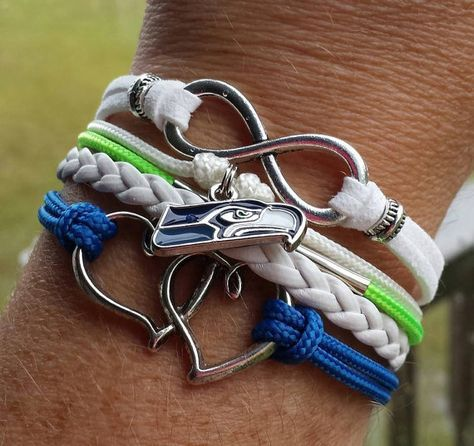 Hey, I found this really awesome Etsy listing at https://www.etsy.com/listing/207290705/nfl-seattle-seahawks-multi-strand