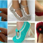 Knit Spring -Summer Slippers In Different Styles