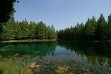 Kitch-Iti-Kipi, Upper Peninsula, Michigan