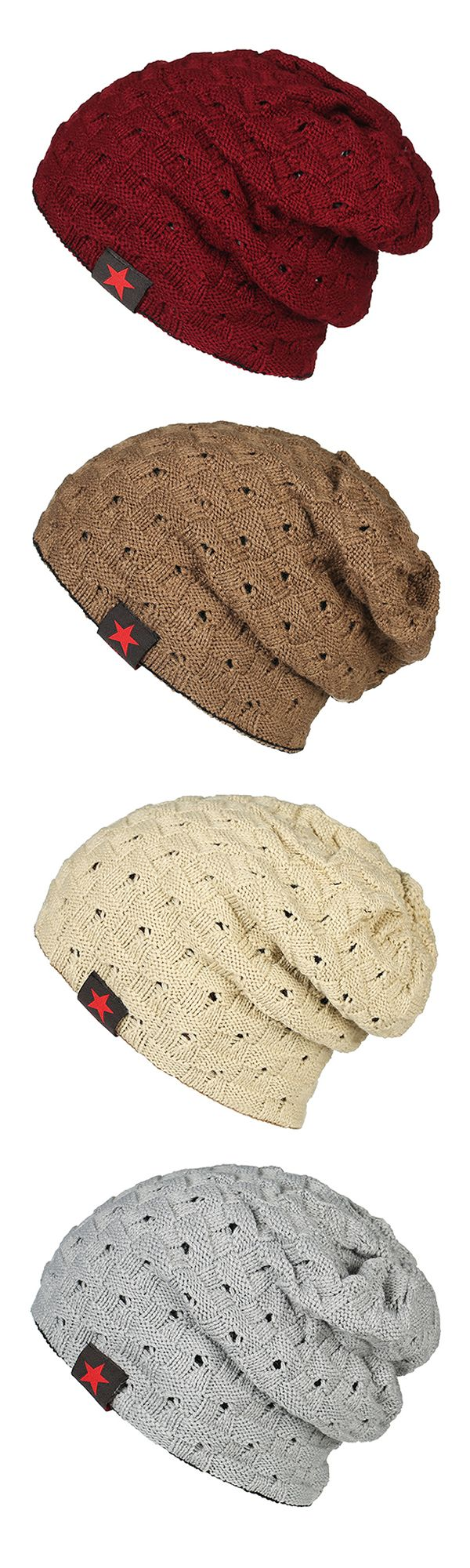 Mens Winter Warm Knitted Stripe Hat /Beanie Hat #outdoors #outfits #tattoos
