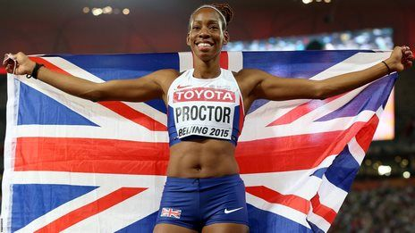 GB's Proctor wins long jump silver