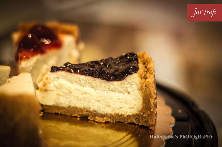 When, according to you, is it the perfect time of the day to have a slice of #BlueBerryCheeseCake? For us it's all day :D