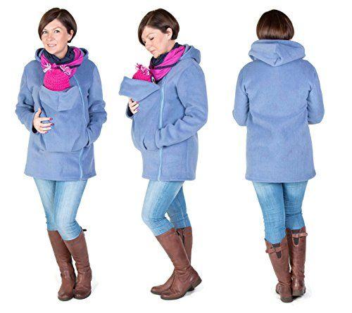| #Pullover #Umstandspullover #Tragejacke #für #Mama  #038; #Baby #blau