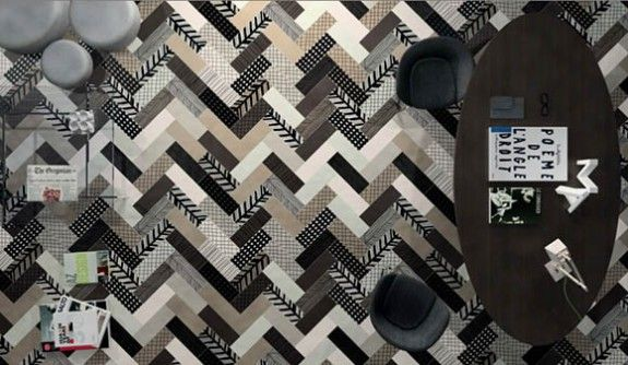 McKay Flooring | Spectacular creative parquet patterns | http://www.mckayflooring.co.uk