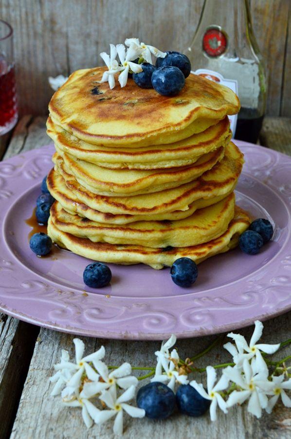 pancakes ai mirtilli - blueberry's pancakes