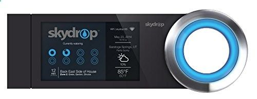SkyDrop 8 Zone (Expandable to 16) Wifi-Enabled Smart Sprinkler Controller Water Smarter! The skydrop smart watering sprinkler controller is an amazing innovation that brings home automation to your sprinklers. Skydrop is very simple to use with its interactive jog dial and menu screens to give you full control of your landscape watering. Also, skydrop actually monitors and analyzes local weather every day to determine the optimal watering schedule for you – which saves you time, wat..