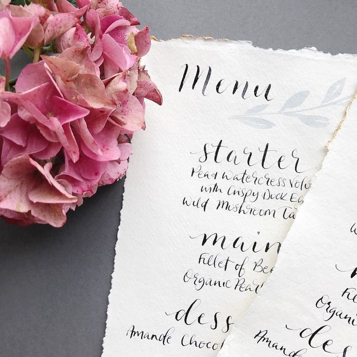 Best Wedding Breakfast Menus Ideas On Pinterest Easy