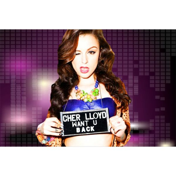 Cher Lloyd Kiss 92 5 Liked On Polyvore Featuring Cher Lloyd