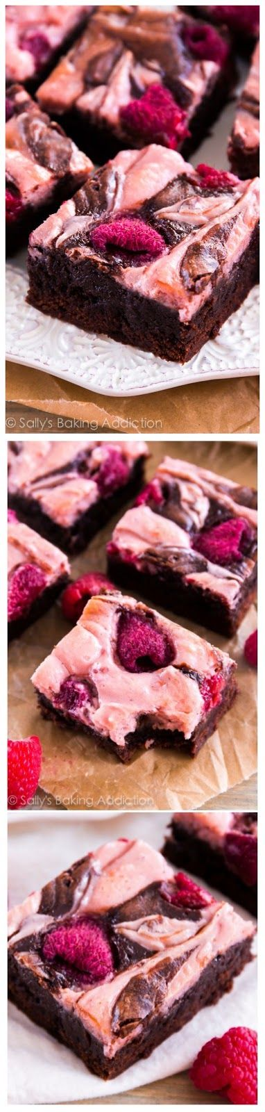 Raspberry Cheesecake Brownies ~ Don't Eat Them All