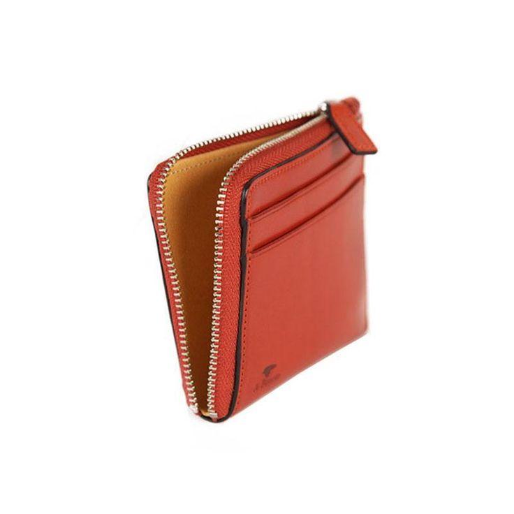 Il Bussetto - Zip Wallet - Orange - Anthem Wares