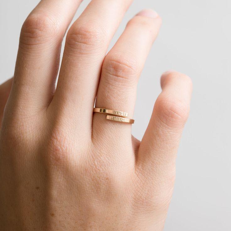 GLDN | Hug Ring <3 https://www.gldn.com/shop/personalized-wrap-ring