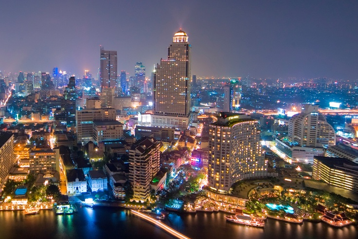 What a view! On top of The Peninsula, #Bangkok #Thailand