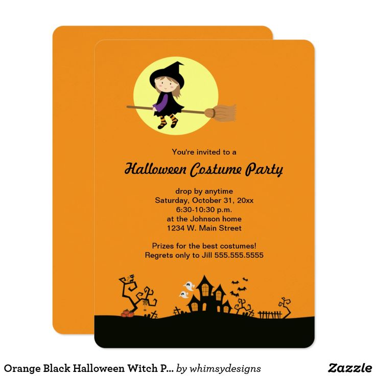 166 best Halloween: Party Invites images on Pinterest | Invites ...