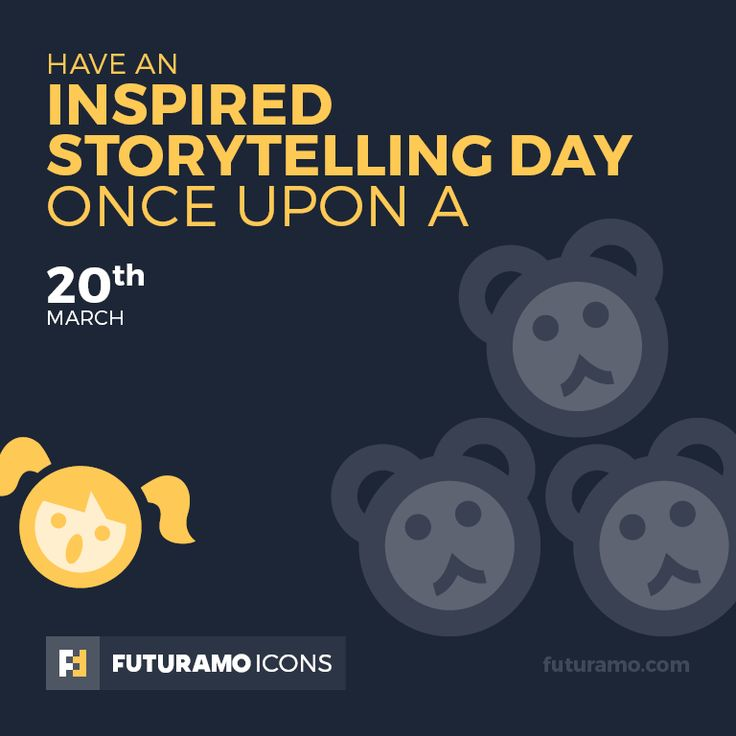 Have an inspired storytelling day once upon a! Check out our FUTURAMO ICONS – a perfect tool for designers & developers on futuramo.com