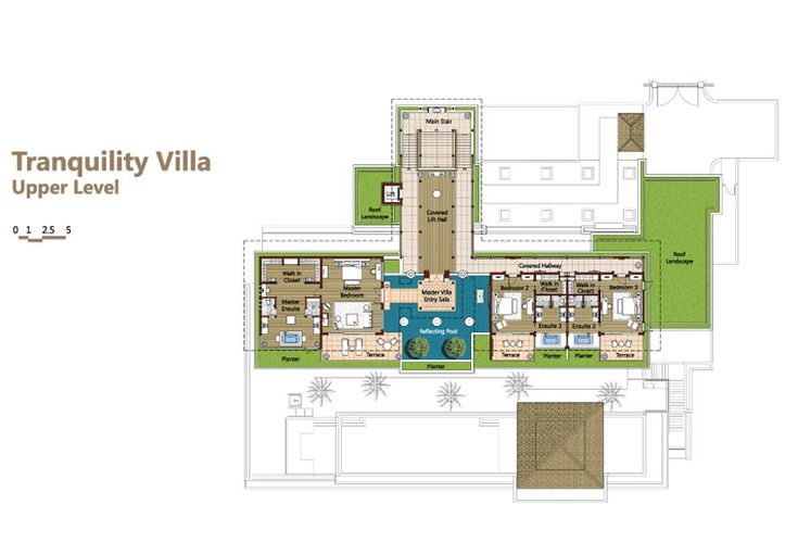 Phuket Luxury Villa Layout Plans And Descriptions Andara