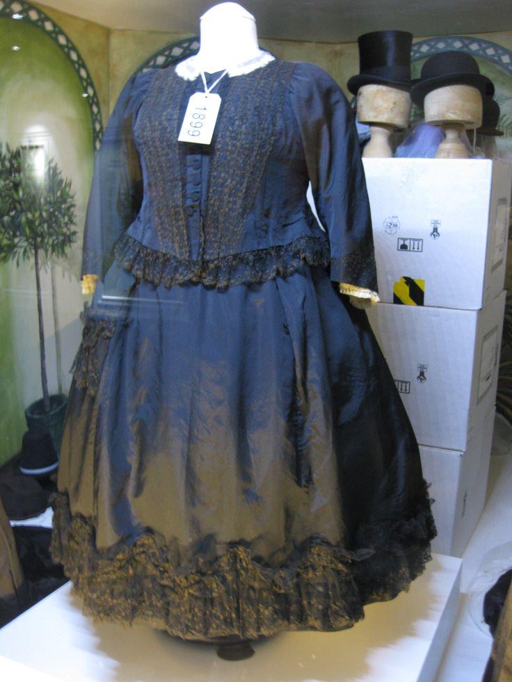 Queen Victoria's dress, in the Fashion Museum Bath