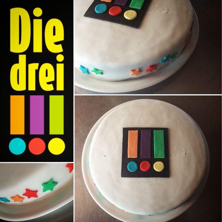 Die drei Ausrufezeichen-Torte