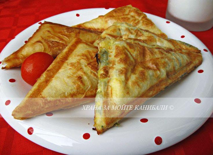 Храна за мойте канибали: Банички в тостер сандвича