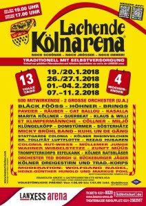 awesome Vorverkaufsstart für die Lachende Kölnarena 2018