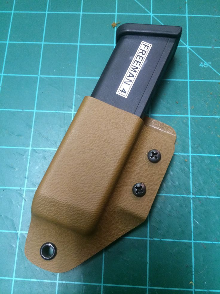 Glock mag carrier in coyote tan by Aspis Tactical Solutions.  Get yours at www.aspisfirearms.com