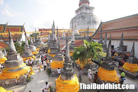 Phra Borommathat Chedi in Nakhon Si Thammarat proposed as world heritage
