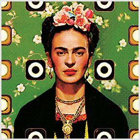 Frida Kahlo 03 - Quadrinhos confeccionados em Azulejo no tamanho 15x15 cm.Tem um ganchinho no verso para fixar na parede. Inspirados em foto da artista mexicana. Para entrar em contato conosco, acesse: www.babadocerto.c...