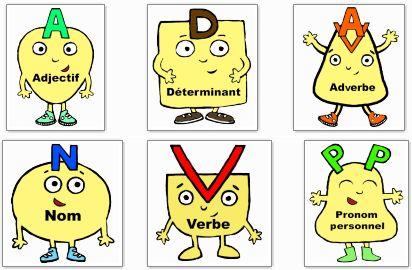 les personnages nature des mots en couleur ou N/B chez chenapan