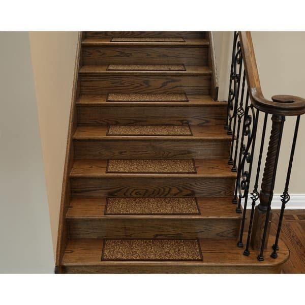 Best Ottomanson Affordable Non Slip Stair Treads Set Of 7 8 400 x 300