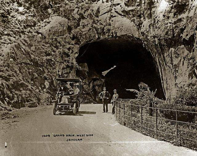 Grand Arch, West Side, Jenolan | by Blue Mountains Local Studies
