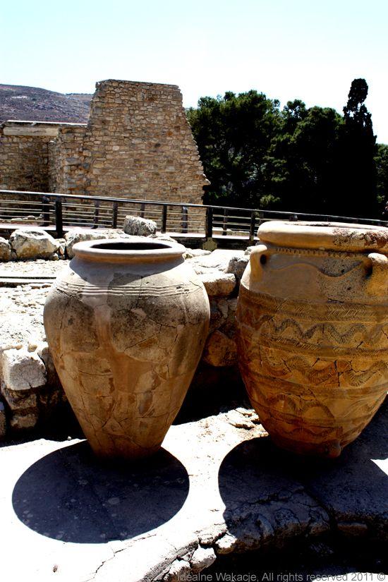 Kreta- pałac w Knossos