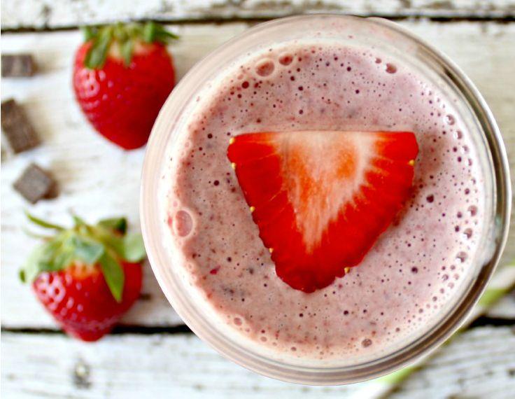 Strawberry Chocolate Shake Without Chocolate Syrup