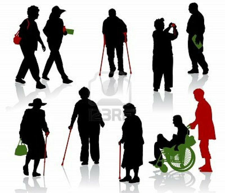 silhouettes of people | ... Blog (www.re-coveredtreasures.com): Hiring differently-abled people