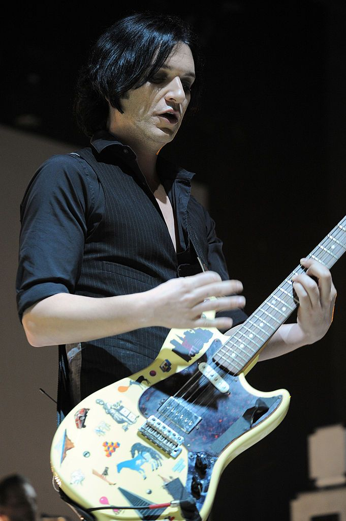 Brian Molko of the alternative rock band Placebo performs