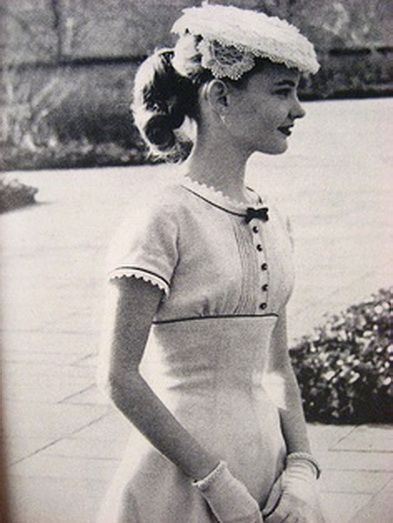 1950s. So adorable and feminine.