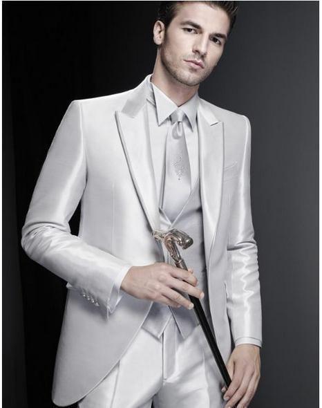 Selling One Button Romantic Peak Lapel Groom Tuxedos Wedding Party Groomsman Suit Wedding Party Suit Jacket+Pants+Tie+Vest 39 All Black Tuxedo Cheap Tuxedos From Finewedding668, $68.73| Dhgate.Com