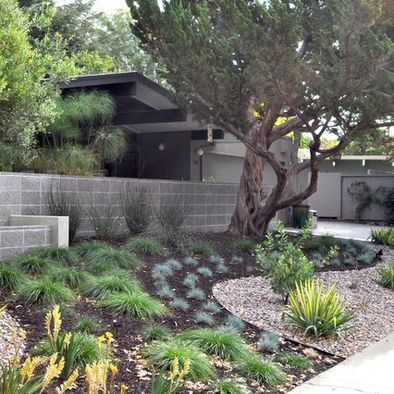 front yard landscape ideas that make an impression front yard ideasmid century - Mid Century Modern Landscaping